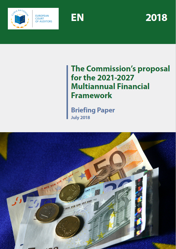 Briefing paper: The Commission's proposal for the 2021-2027 Multiannual Financial Framework